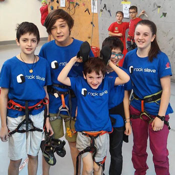 Corsi di arrampicata sportiva per ragazzi